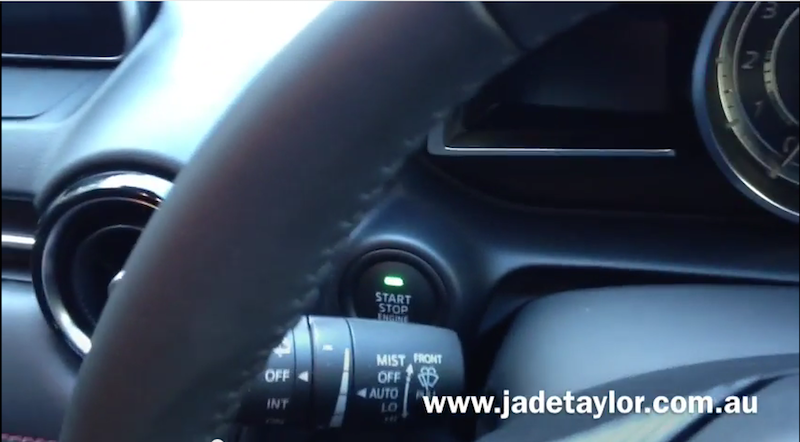 Mazda Keyless Push-button Engine Start