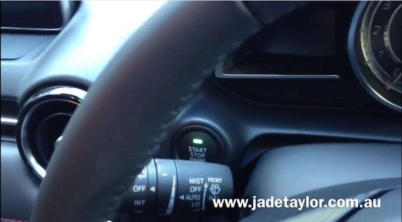 Mazda Keyless Push-button Engine Start