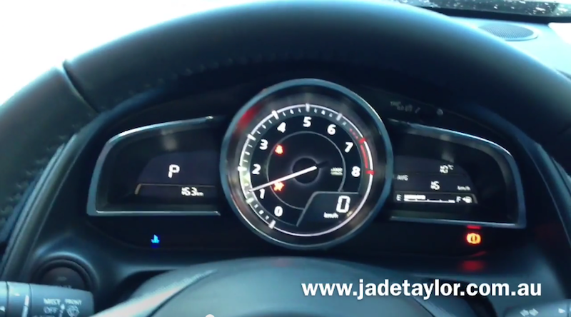 Mazda Push-button Dash Accessories