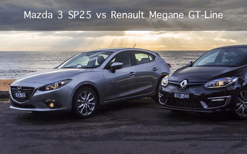 Mazda 3 SP25 vs Renault Megane