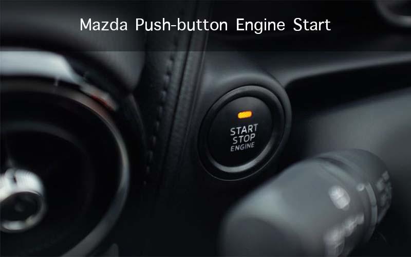 Mazda Push-button Engine Start