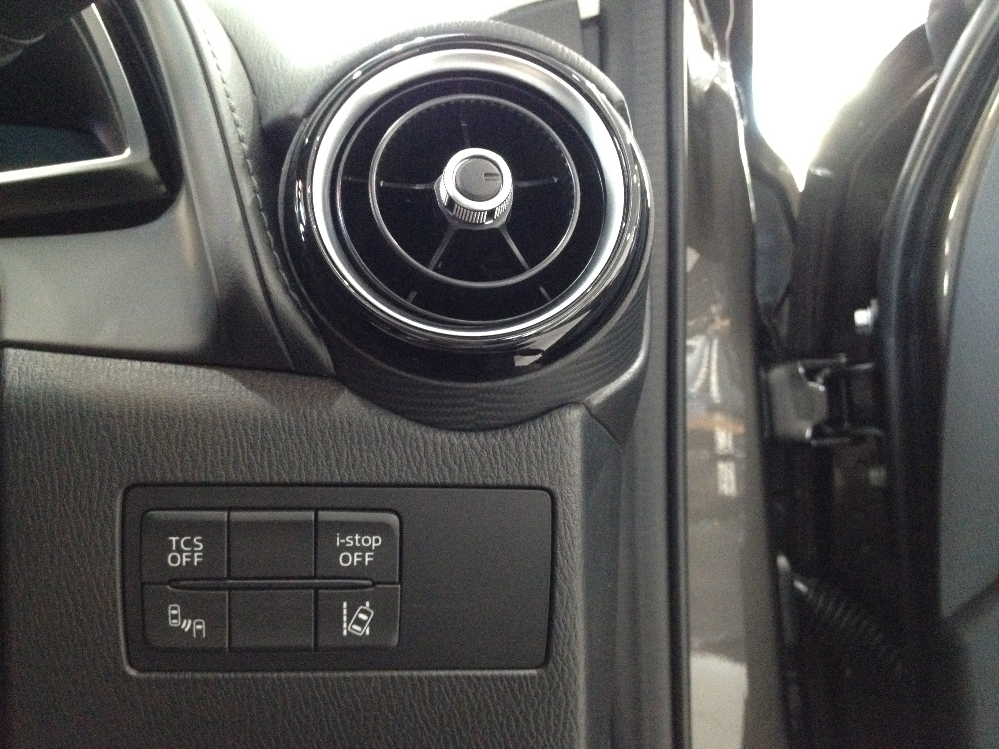 Blind Spot Monitoring Switch