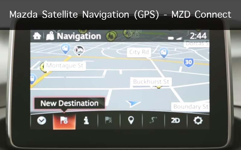 Mazda Satellite Navigation (GPS) – MZD Connect