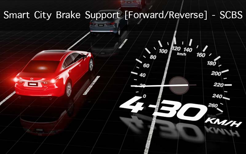 Smart City Brake Support [Forward/Reverse] – SCBS