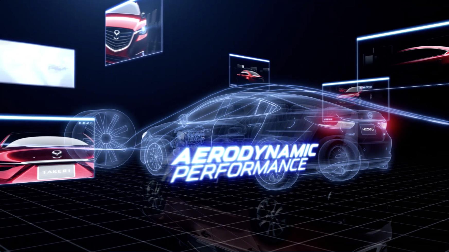 Mazda 6 Aerodynamics