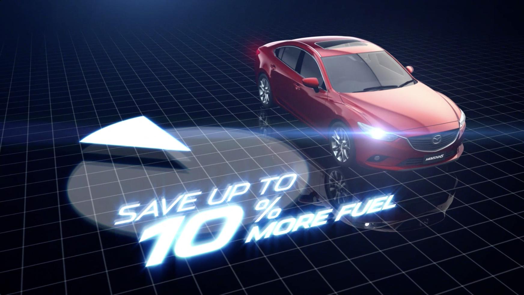 Mazda 6 Fuel Saving