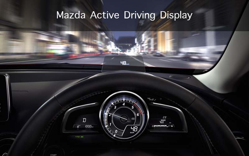 Mazda Active Driving Display – Heads Up Display