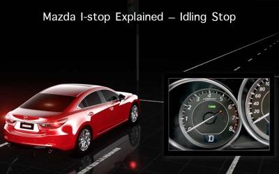 Mazda I-stop Explained – Idling Stop