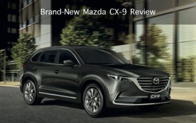 Brand-New Mazda CX-9 Review