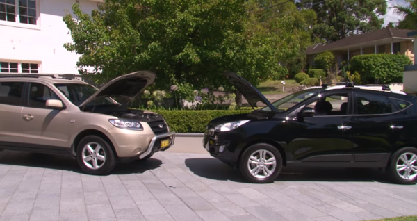 Discover Your Car - How To Jump Start A Car - Park Cars Nose To Nose