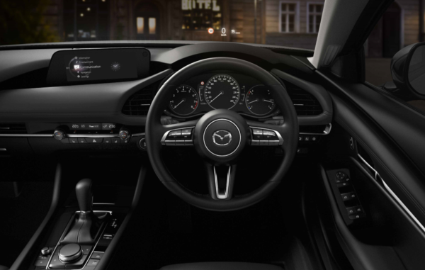 2019 Next-Gen Mazda 3 Dash