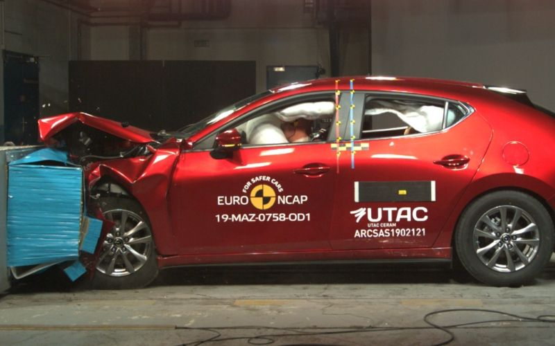 2019 Next-Gen Mazda 3 ANCAP Safety Crash Test